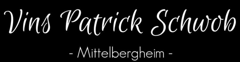 Patrick Schwob à Mittelbergheim - Viticulteur